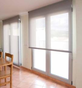 Instalaci n de estores de interior en madrid - Colocar estor enrollable techo ...