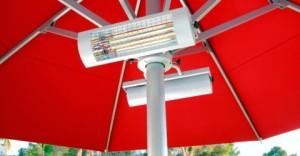 Calefactores con infrarrojos para terrazas
