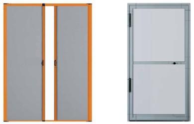 Mosquiteras para puertas y ventanas en madrid for Mosquiteras plisadas para puertas