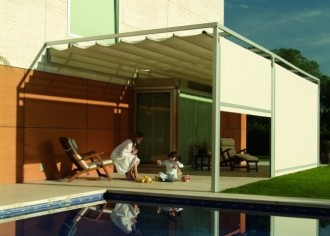 Instalaci n de pergolas de aluminio en madrid - Pergola terraza atico ...